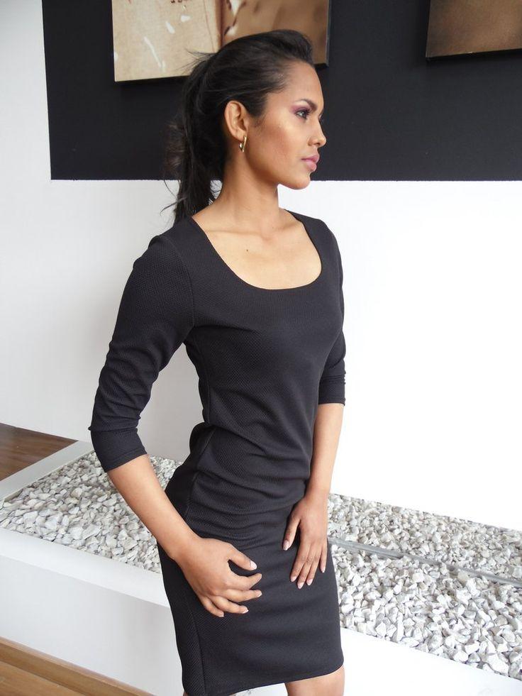 Vestido Negro Galleta