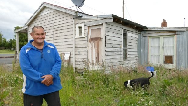 Robert Goodwin sold this Ohai house in Western Southland for $12,000 early in 2015.