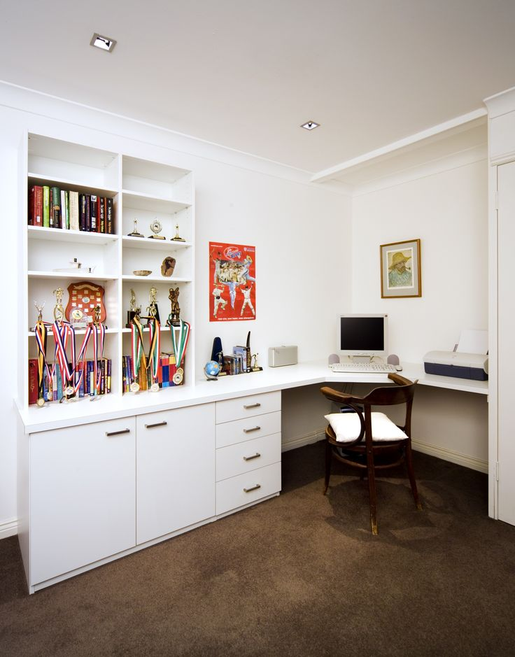 We can incorporate storage to your child's room. Even if they've left home we still want to showcase our pride. They will always be our babies.