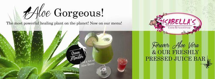 Loving our new Aloe Vera Range!  #health #isabellas #innovation
