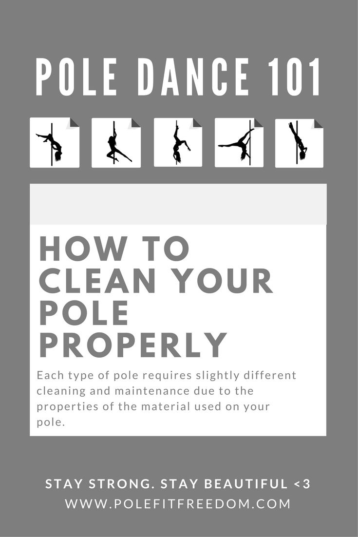209 best pole fit freedom images on pinterest dance pole maintenance how to clean to your pole polefitness poledancing fandeluxe Images