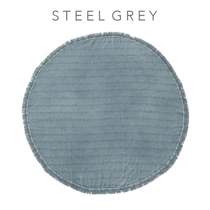 Here's an early Christmas gift! We've reduced our Round Stonewash Towel from $99 to $79! Find this perfect Summer towel on sale for a limited time online at www.knotty.com.au 💕