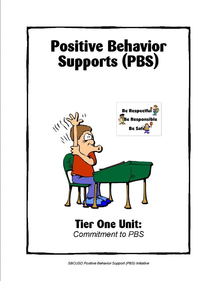 PBS - MODEL program. includes downloads for implementing PBS in schools (SW-PBIS).