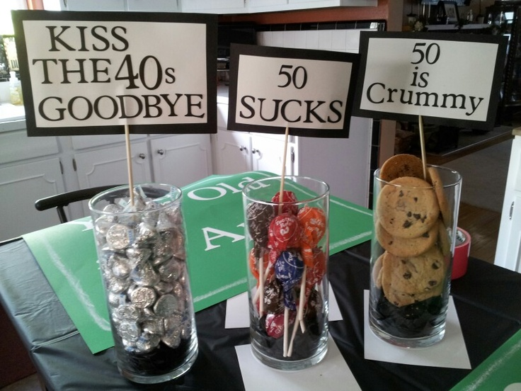 50th bday party decorations