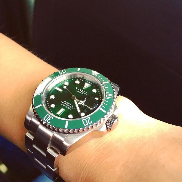 #submariner #green #tisell by good.ys #rolex #submariner