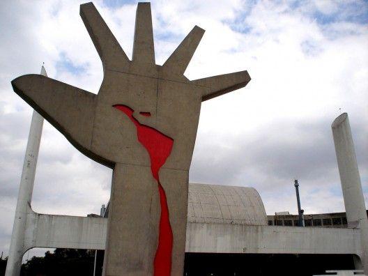 Hand Sculpture by Oscar Niemeyer (1907-2012)