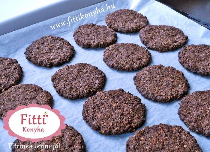 Csokis zabpelyhes keksz - Szilvi ÍzVilág