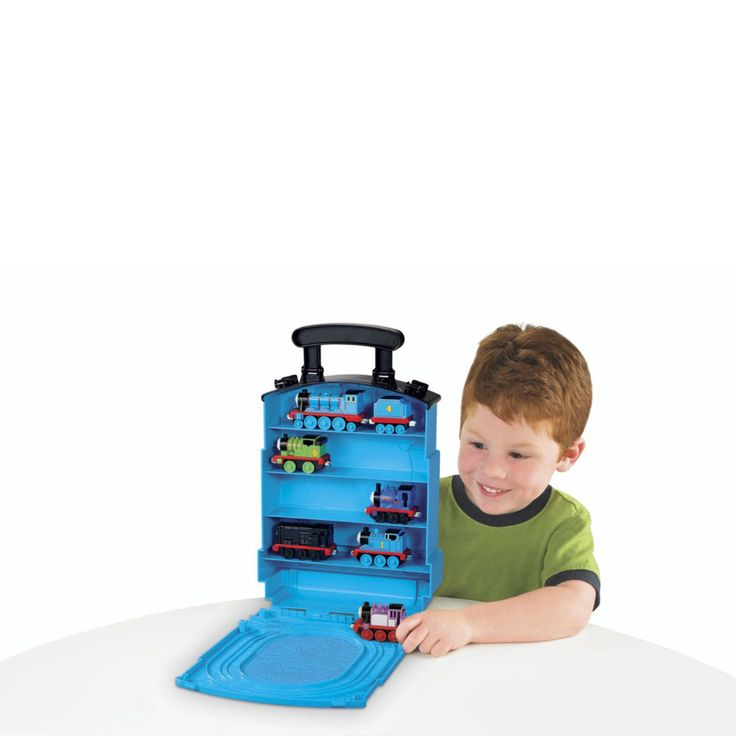 """Thomas & Friends Take N Play Tote-a-Train Carry Case 