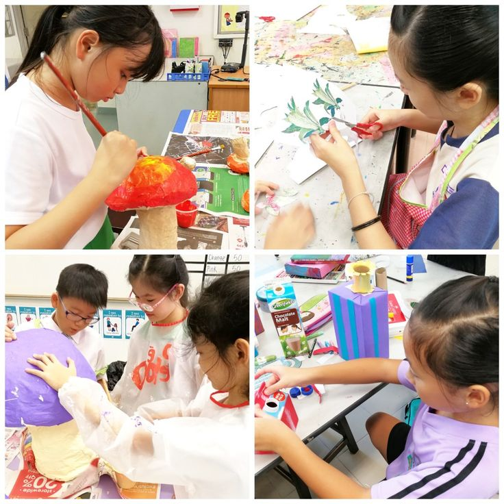 Students' Hands-on in various schools