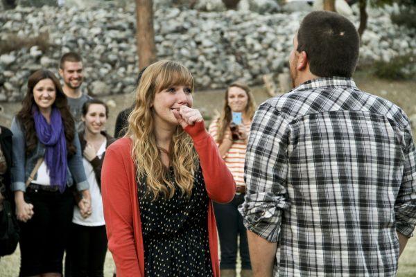 Surprise proposal ideas, surprise engagement, proposal video @Jordan Bromley Hebrank you would love this.