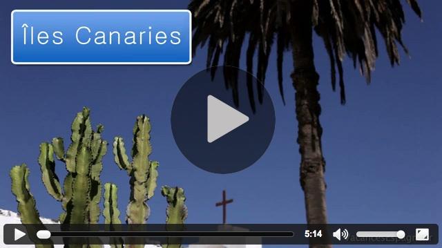 Vidéo d'information touristique sur les îles Canaries : informations touristiques, histoire, carte et lieux d'intérêt pour vos vacances dans les îles Canaries.