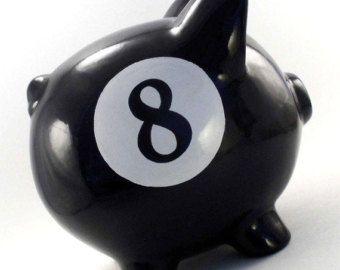Basketball Piggy Bank Personalized Sports Bank por ThePigPen