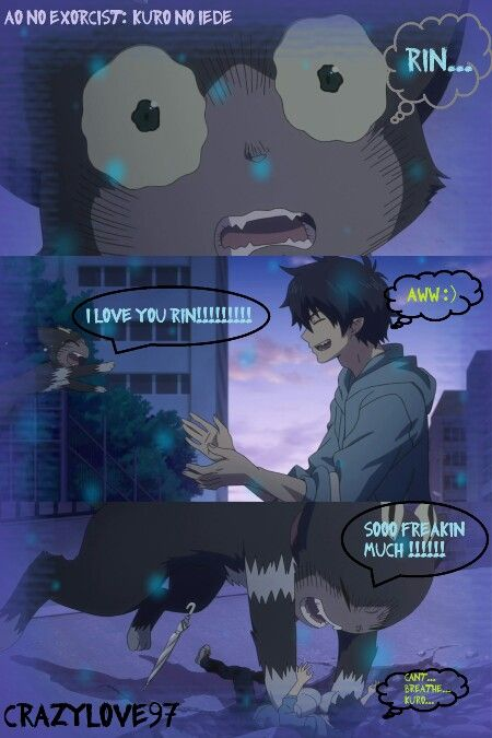 Ao no Exorcist - He just needed someone to undrstand him :)