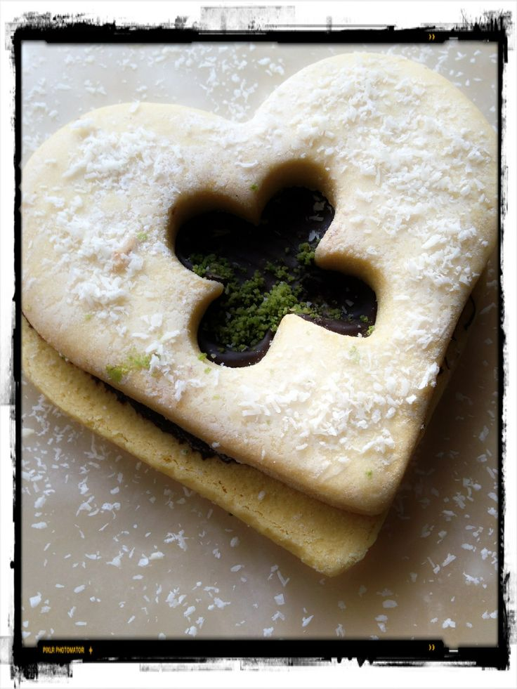 The heart shaped cookie...