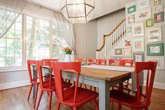 15 поводов полюбить красные стулья