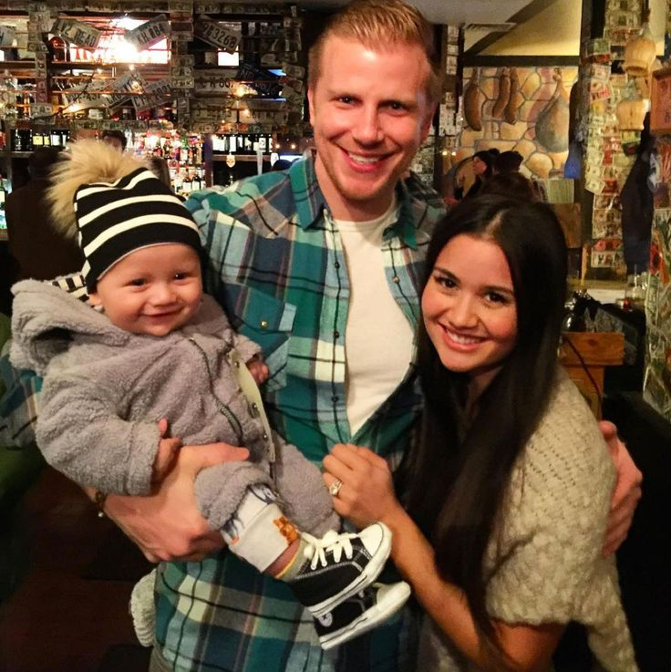 Sean Lowe Posts Adorable Snap of Himself with Wife Catherine and Son Samuel: 'I Love My Little Family' #posts #adorable #himself #catherine…