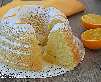 CIAMBELLONE ALL'ACQUA con succo di arance RICETTA SENZA UOVA