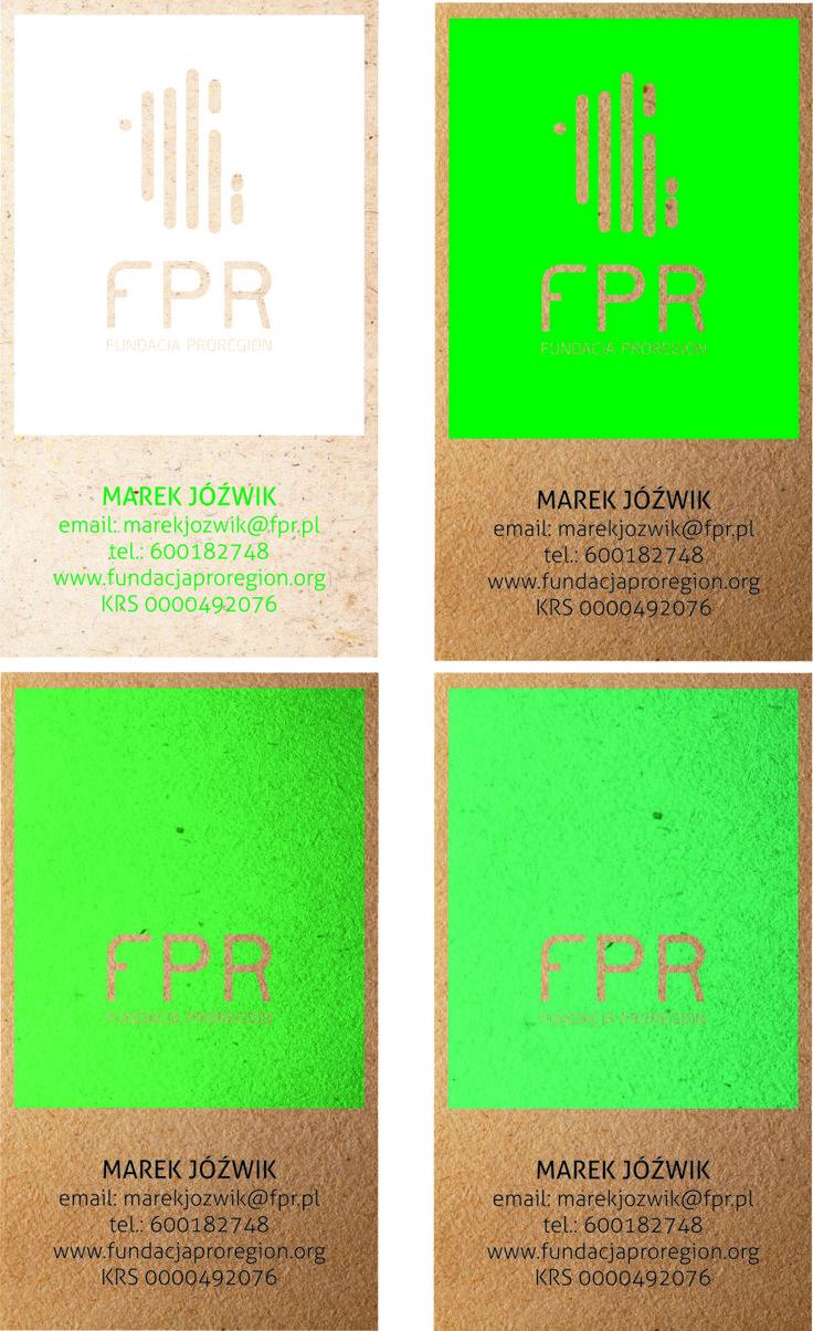 FPR bussines cards