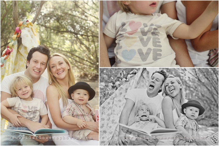 even casual for a family photoshoot can look {soooo} cool!!! credit: wildflowers photography