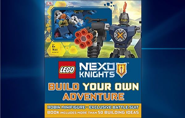 LEGO Nexo Knights Build Your Own Adventure : Ce sera Robin et une Battle Suit exclusive: Amazon a mis en ligne la couverture du… #LEGO