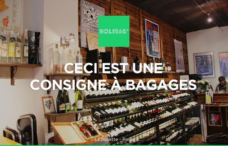 Le monde change... La consigne à bagages aussi ! Vous souhaitez déposer vos affaires à l'Étiquette à Paris ? Alors réservez vite votre consigne sur www.holibag.io ou sur notre superbe appli : apple.co/1SVxqL2
