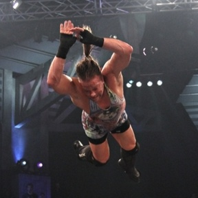 rob van dam 5 star | Rob Van Dam hits a Five-Star Frog Splash on Rhino Credit: TNA