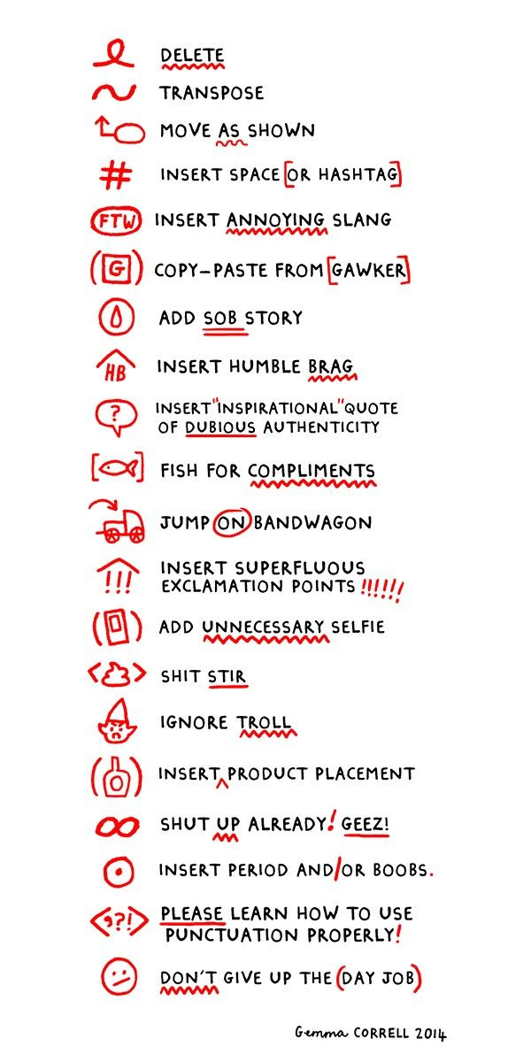 94 Best Proofreading Images On Pinterest Gym Knowledge And Literature