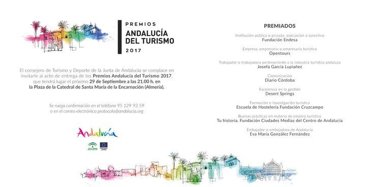 Y llegó el gran día. #PremiosAndalucíadelTurismo2017  #AlcalálaReal #Antequera #Écija #Lucena #PuenteGenil