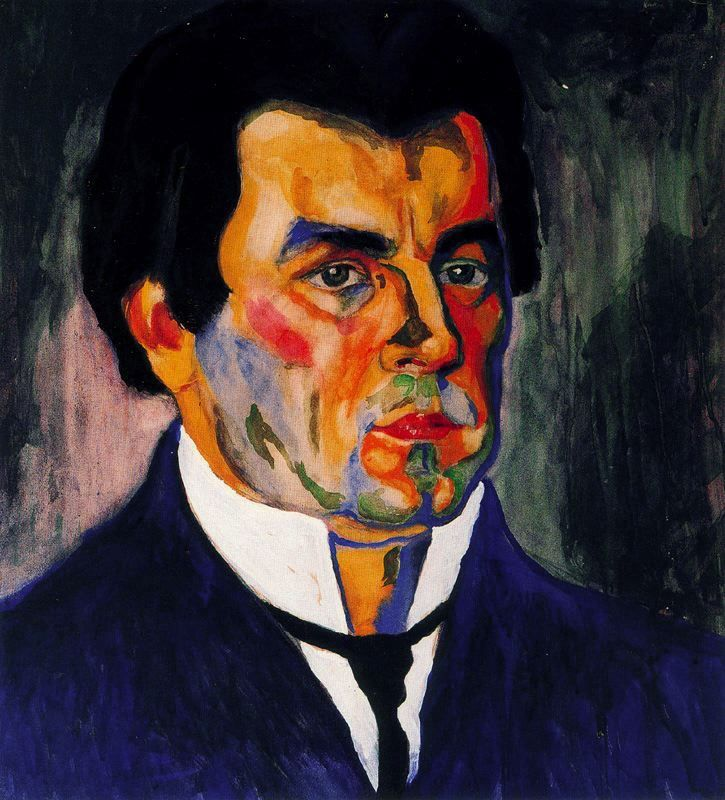 Self Portrait, 1911 Kazimir Malevich (1878-1935). Russian