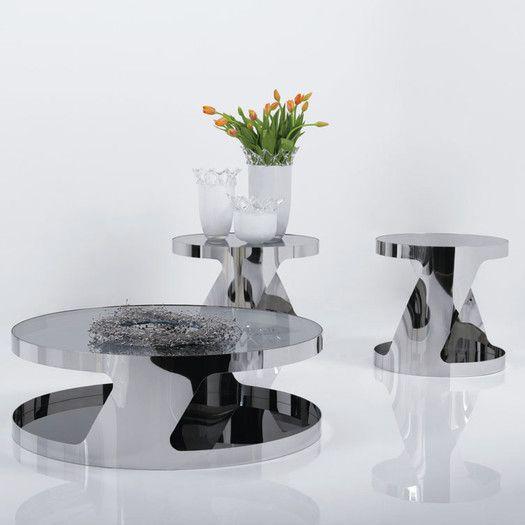 J&M Furniture Modern Coffee Table Set