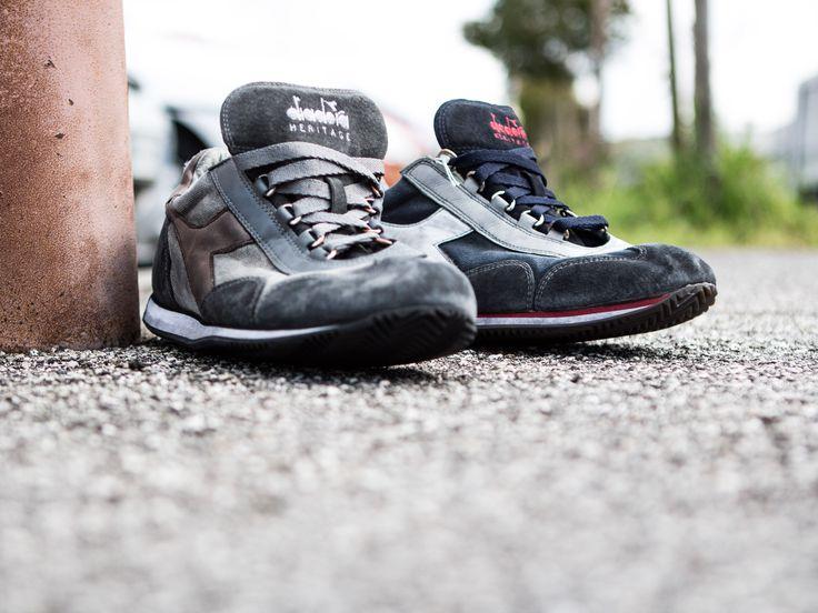| Diadora Heritage - Equipe SW Dirty | | Tutto il fascino delle Sneakers Vintage! |   #YOUSPORTY #DiadoraHeritage