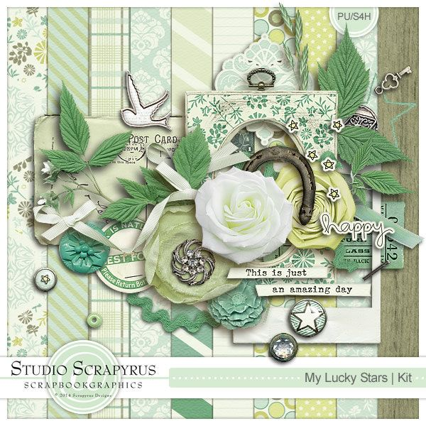 My Lucky Stars | Kit by Scrapyrus Designs