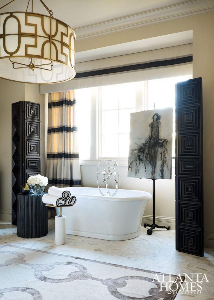 Master bathroom design by michel boyd smithboyd - Home interior decorators in atlanta ga ...