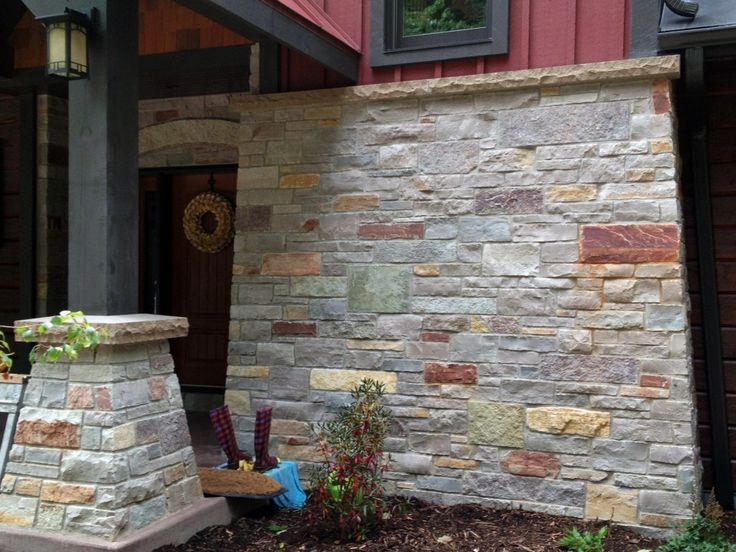 Stone And Siding Combo