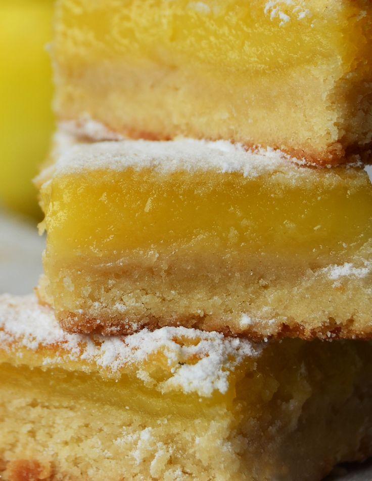 Barritas de limón: Tres Tenedores