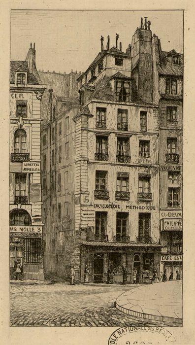 Quai Conti N°5. Maison habitée par Napoléon Bonaparte en 1785 (5e étage)