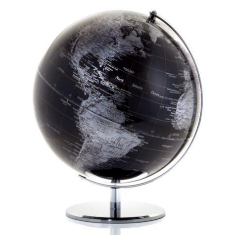 World Globe - Black | Desk-organization | Accessories | Z Gallerie