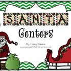 Ho! Ho! Ho!  Enjoy this holiday-themed packet featuring Santa, his elves and all things Christmas!  With a 100 pages of literacy and math centers, ...