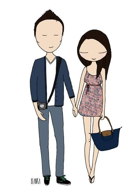 Couples illustration image 18