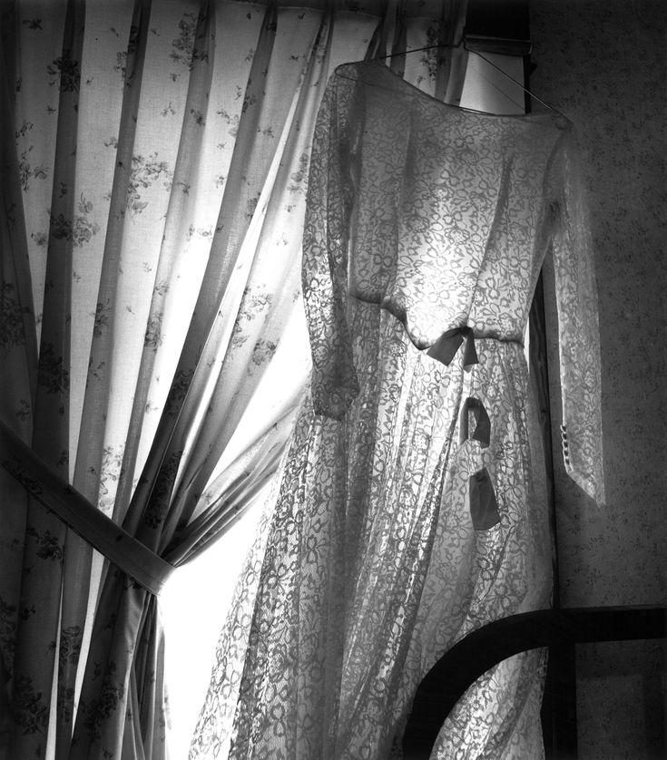 Wedding Dress, Herchenbach Place, Cass County, Nebraska, 2007, Photographer Nancy Warner