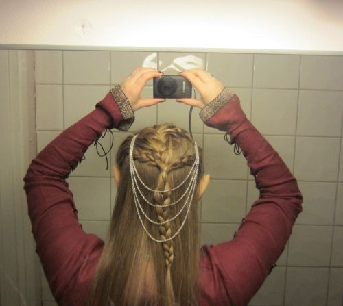 My hair for the Hobbit - DoS premiere  moonmaiden.blogg.no