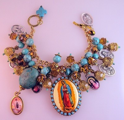 Our Lady of Guadalupe Charm Bracelet