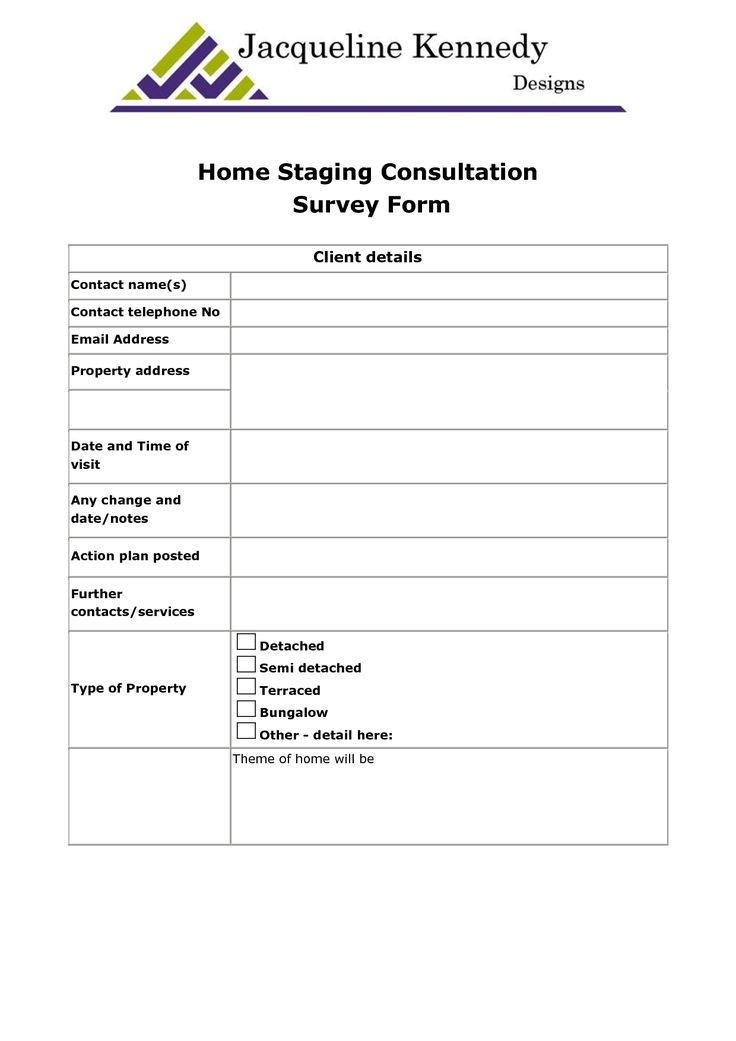 Home staging contract template bing images stg Sample interior design business plan