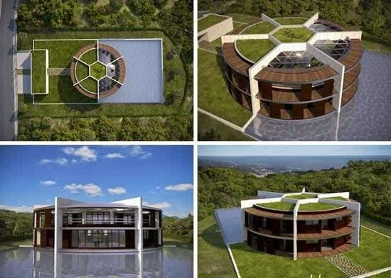 Lionel Messi's new house design Iam Architect