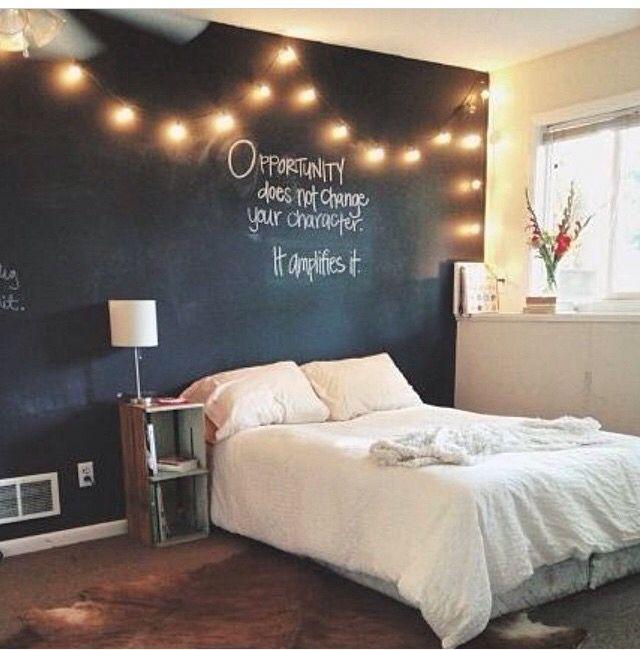 Love this chalk board