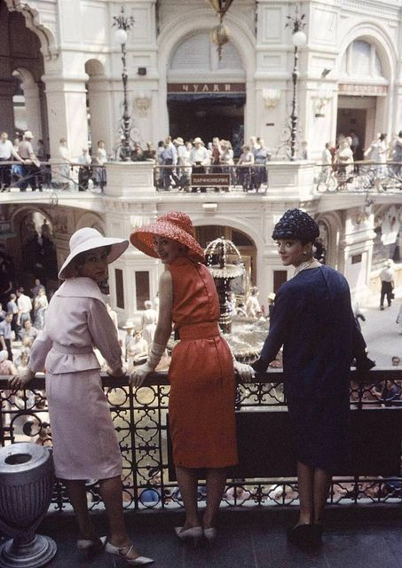 Dior in Moscow 1958