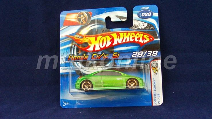 HOTWHEELS 2006 FIRST EDITIONS | HONDA CIVIC SI | 28/38 | 028-2006 | GREEN