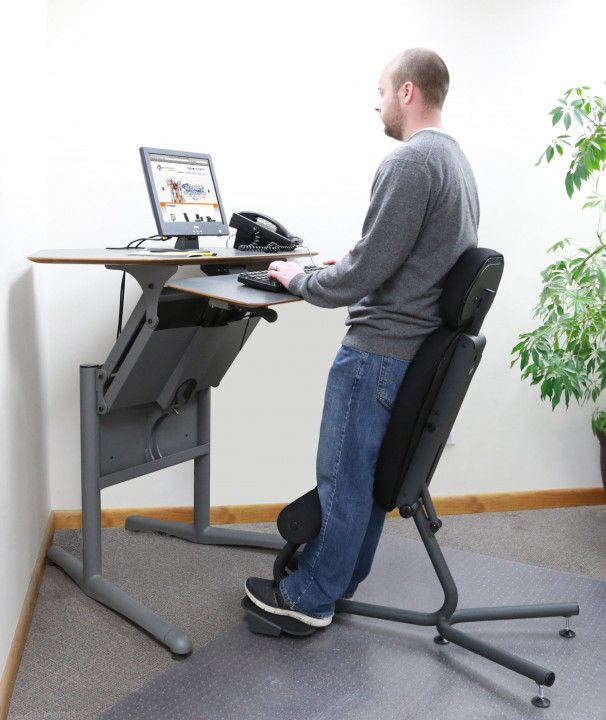 Chair For Standing Desk Space Saving Desk Ideas Standing Desk Chair Ergonomic Desk Chair Standing Chair