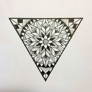 Image result for triangle tattoo design