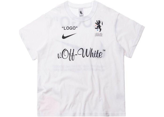 0d359374 Nikelab x OFF-WHITE Mercurial NRG X Tee White | fhgb | White nikes ...